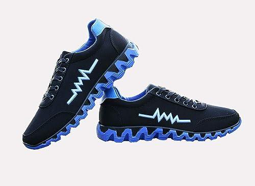 Zapatillas Deportivas Running Zapatillas, para Caminar Gimnasio Mens Zapatillas Deportivas Correr,Blue,39: Amazon.es: Zapatos y complementos