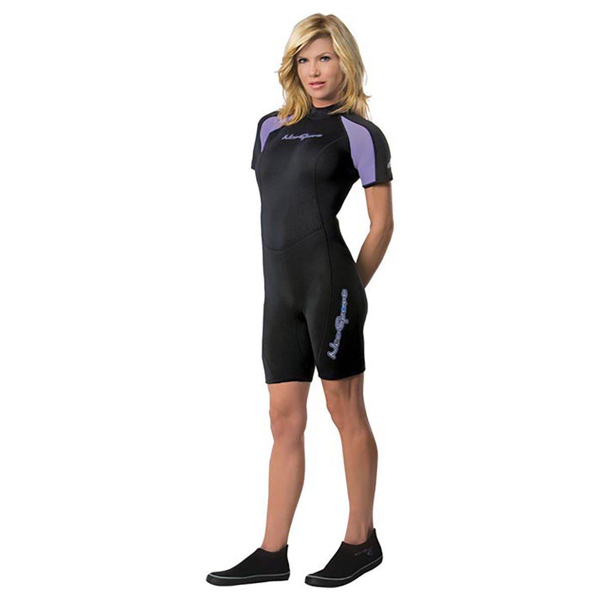 Amazon.com  NeoSport Wetsuits Women s Premium 2mm Neoprene Shorty  Sports    Outdoors de5e6e7a6
