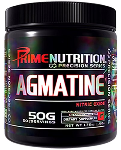 Prime Nutrition Agmatine Supplement, 50 Gram by Prime Nutrition