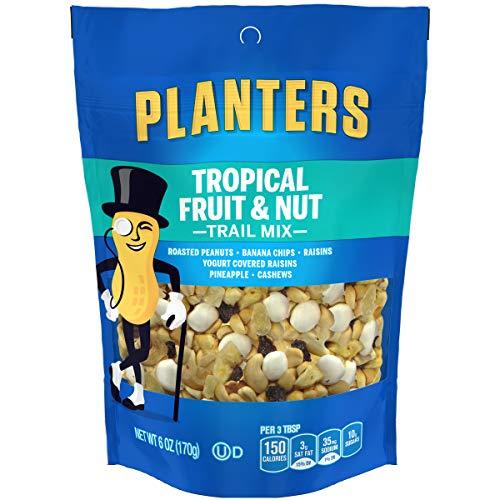 Planters Tropical Fruit & Nut Trail Mix, 6 oz Pouch ()