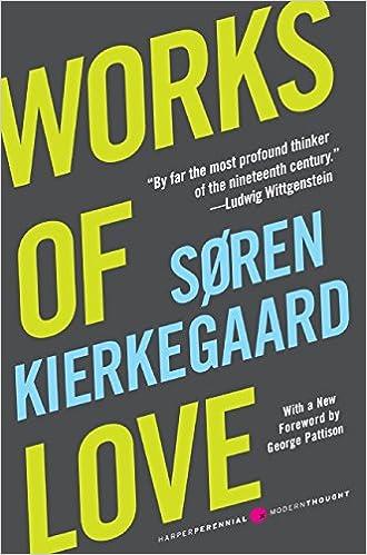 Image result for kierkegaard works of love