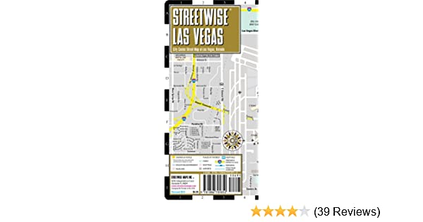 Streetwise Las Vegas Map - Laminated City Center Street Map of Las ...