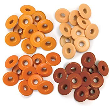 Standard Pink We R Memory Keepers Eyelets For Scrapbooking Assortment