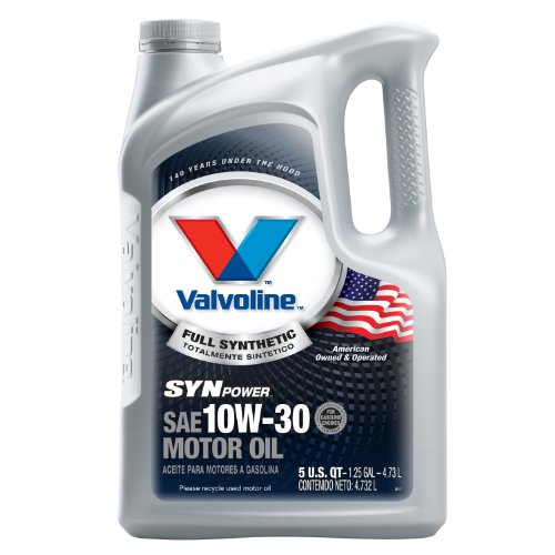 Used, Valvoline SynPower 10W-30 Full Synthetic Motor Oil for sale  Delivered anywhere in USA