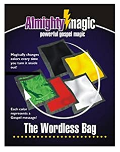 Trickmaster Almighty Magic The Wordless Bag Trick-- Powerful Gospel Magic!