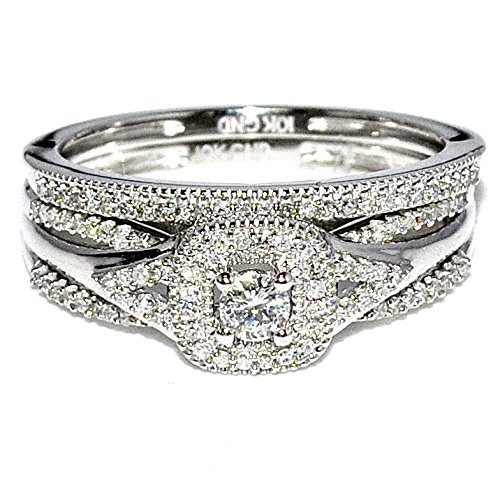3cttw Bridal Rings Solitaire Center