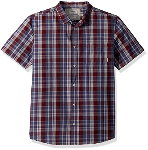 ryday Check Short Sleeve, Vineyard Everyday Check, XL (Quiksilver Mens Surf Check)