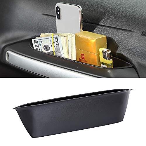GrabTray Passenger Door Grab Handle Storage Organizer Tray for Jeep Wrangler JK JKU Sahara Rubicon & Unlimited Interior Accessories 2011-2018