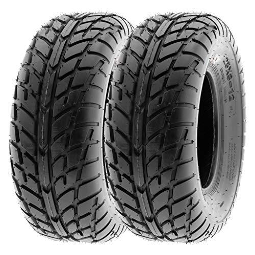 SunF 25x10-12 25x10x12 ATV UTV Tires 6 PR Tubeless