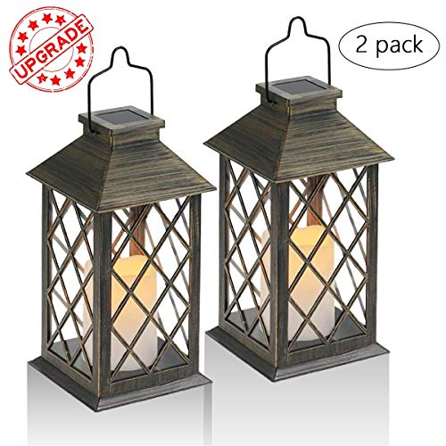 Led Solar Garden Lantern Light Set