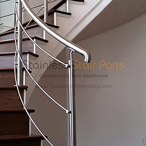 ... Handrail Support E030/S. Indoor And Outdoor Railing Projects. Connects  Handrail To Newel Posts And Secures Stair Handrails In Place.     Amazon.com