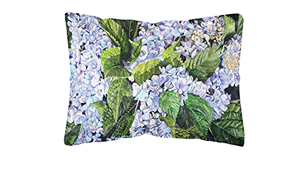 Country Accent Pillow Great gift for Her Home Decor Premium Pillow Green Hydrangea Flower Pillow