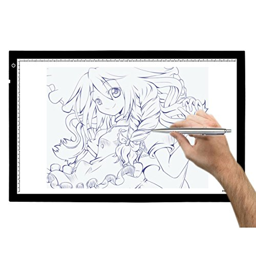 huion-a2-large-tracing-light-box-ac-powered-light-pad-adjustable-brightness-236-by-1575-inches