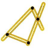 Measuring Instrument Template Tool Four-Sided Ruler Mechanism Slides