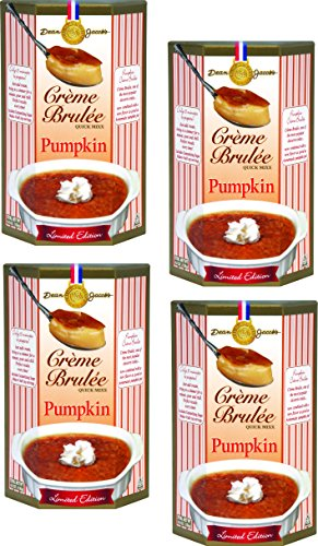 Pumpkin Creme Brulee 4.8 oz. (Pack of 4) (Stacking Pumpkin)
