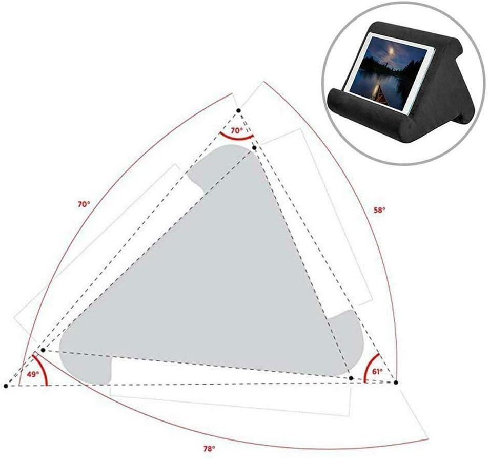 liseuses /électroniques Mini Tablette Magazines Feketden Livres Multi-Angle Soft Pillow pour tablettes Smartphones Support de Coussin pour Tablette