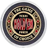 Hand painted card guard cover - Holdem Game of Choice