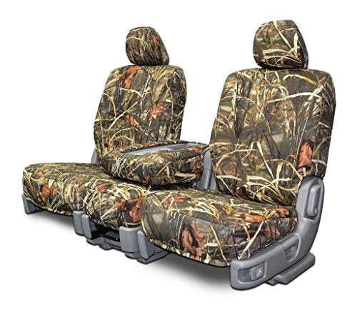 Custom Fit Seat Covers for Chevy/GMC 40-20-40 Style Seats - Advantage Max4 Camo