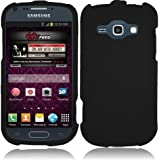 For Samsung Galaxy Ring M840 Rubberized Hard Cover Case Black Accessory