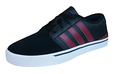 ... where can i buy adidas neo park st lvs mens leather sneakers shoes  black 7 dce9a 7cb757ca7