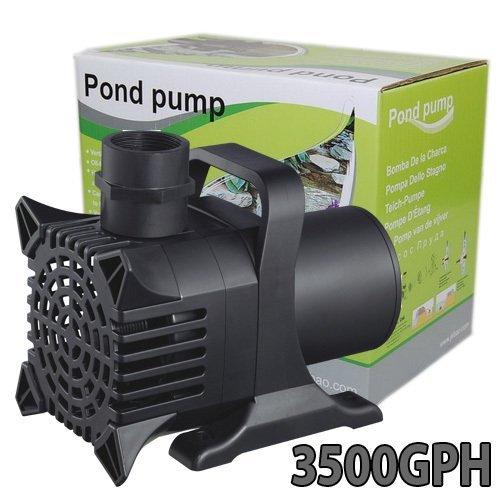 290W Koi Pond Pump Water Fountain Waterfall 3500 GPH Submersible
