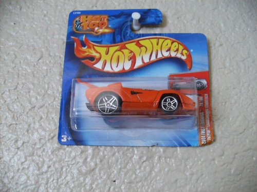 Hot Wheels Tooned' Lamborghini Countach 2004 First Editions #79 Pr5 Wheels on Hot 100 Card