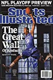 John Wall Kentucky Wildcats Sports Illustrated Autograph Poster - The Great Wall