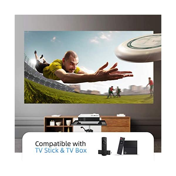 HDMI for Home /& Outdoor 3600L Portable WiFi Projector Supports 1080P for iOS//Android Devices Compatible with TV Stick PS4 VANKYO Leisure 3W Mini Projector with Synchronize Smartphone Screen