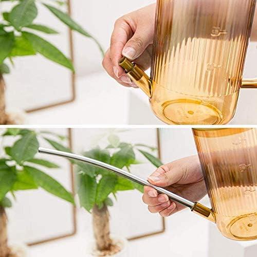 GSDJU Regaderas de pl/ástico Regaderas con boquillas largas Regaderas peque/ñas adecuadas para Plantas de Interior al Aire Libre