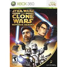 Star Wars the Clone Wars: Republic Heroes - Xbox 360