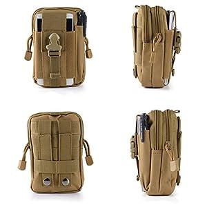 Money coming shop Mens D30 Waterproof Military Belt Waist Bags 1000D Nylon Mobile Phone Wallet Travel Pouch Bolsa