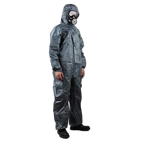 Official IT Traje de protección contra Productos químicos de ...