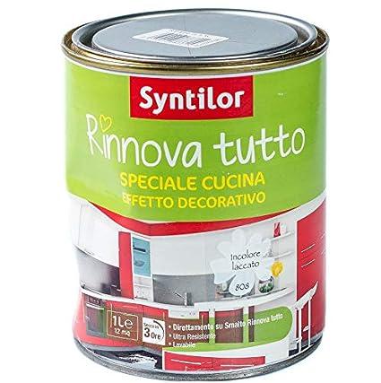 Syntilor SMALTO RINNOVA TUTTO - 1 L EFFETTO DECO SPECIALE CUCINA ...