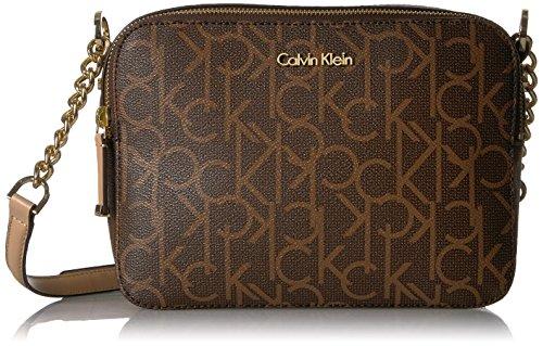 Calvin Klein Monogram Camera Bag Crossbody