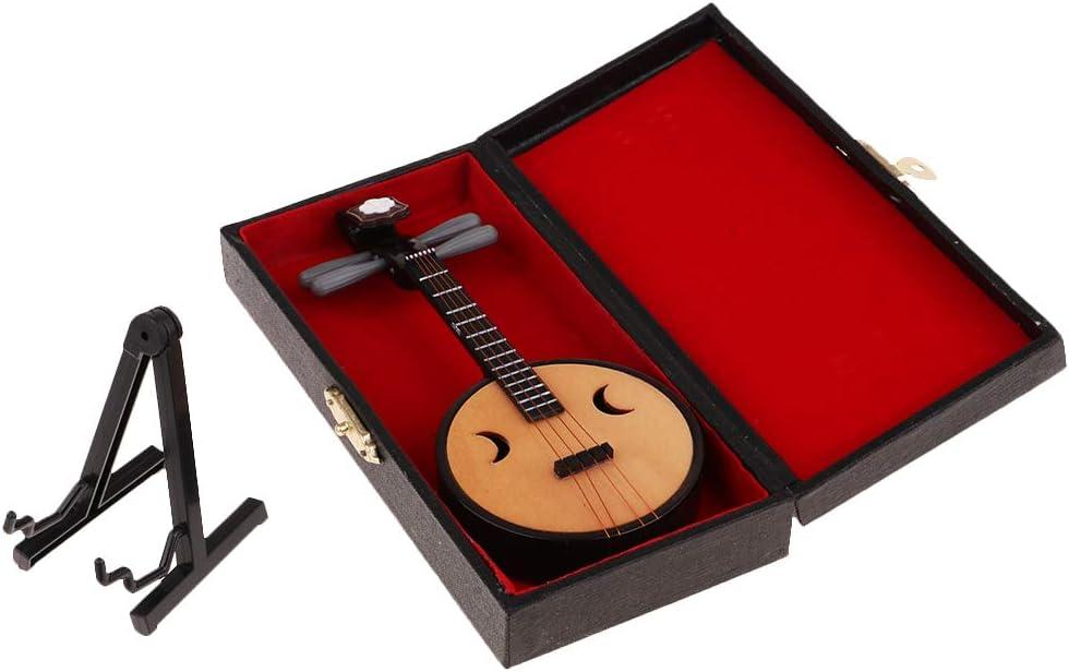 P Prettyia Instrumentos Musicales De Tuba En Miniatura Modelo 1/6 Tuba para Accesorio De 12