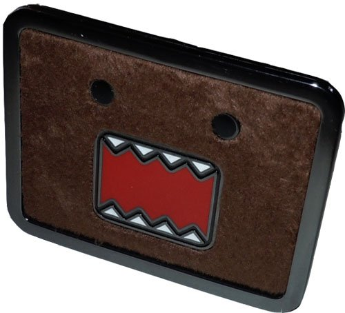 Domo Men's Plush Belt Buckle, Brown, One Size]()