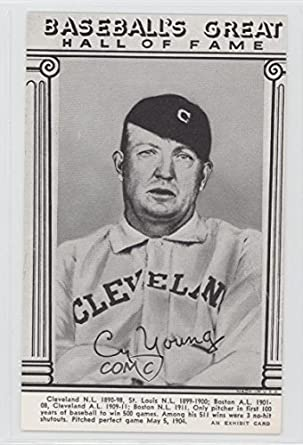 Amazoncom Cy Young Baseball Card 1974 Exhibits