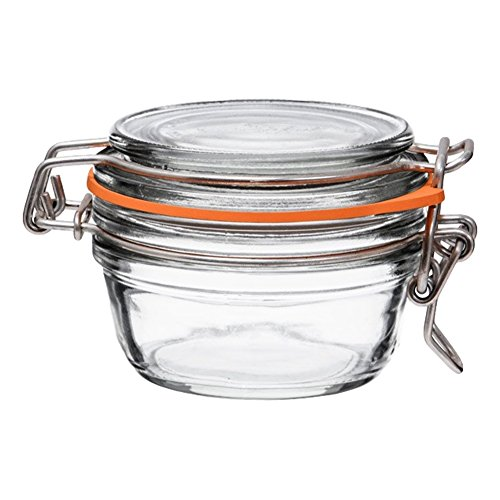 6 Le Parfait Super Terrines - Wide Mouth French Glass Preserving Jars - Preserve, Store, Serve,...