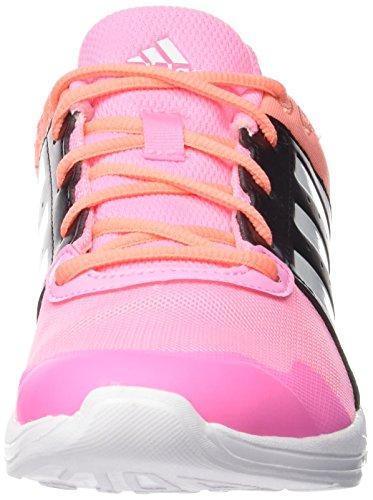 adidas Essential Fun 2, Zapatillas de Running para Mujer Rosa / Blanco / Negro (Briros / Ftwbla / Negbas)