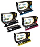 Catch Supplies TN115 TN-115 5-Pack Set Premium Replacement Toner Cartridge Compatible with Brother HL-4040 MFC-9440 9840 DCP-9040 Printers |Black TN115BK, Cyan TN115C, Magenta TN115M, Yellow TN115Y|