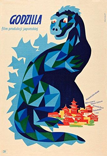(Godzilla - (1957 Polish) Movie Poster 24x36