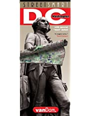 Washington DC Map by VanDam -- Laminated City Street pocket map with all museums, sights, monuments, government buildings and hotels plus Metro Map, 2020 Edition (Streetsmart)