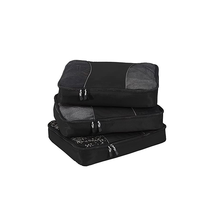 eBags Large Packing Cubes 3pc Set