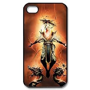 DDOUGS I Mortal Kombat X Customised Cell Phone Case for Iphone 4,4S, Wholesale I Mortal Kombat X Case