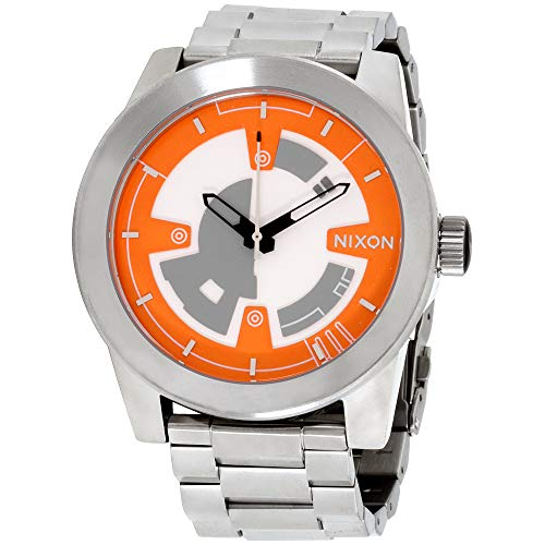 Nixon Corporal SS SW BB-8 Silver Dial Stainless Steel Men's Watch A346SW260400 ()
