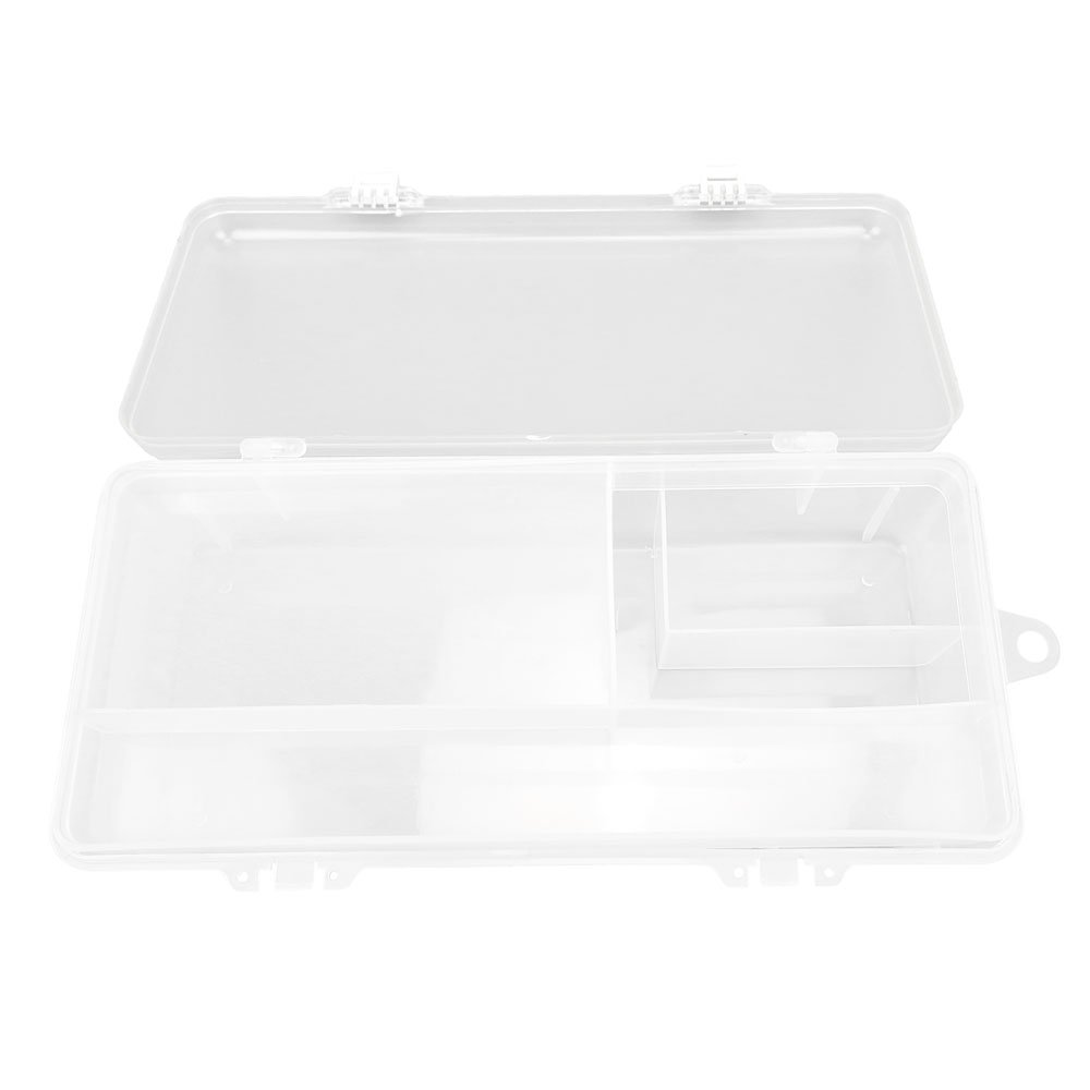 3x BOX311 Clear Beads Tackle Box Fishing Lure Jewelry Nail Art Small Parts Display Plastic transparent Case Storage Organizer Containers kisten boxen boite by Tackle Boxes