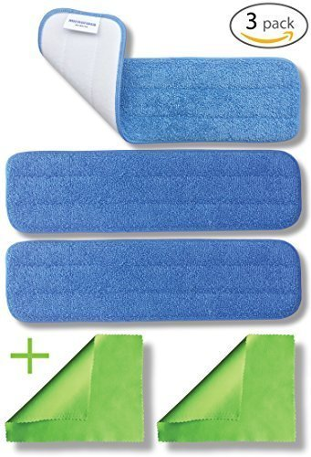 3-pack-18-microfiber-washable-mop-pads-reusable-450gsm-hygen-ecloth-flat-replacement-heads-for-wet-o