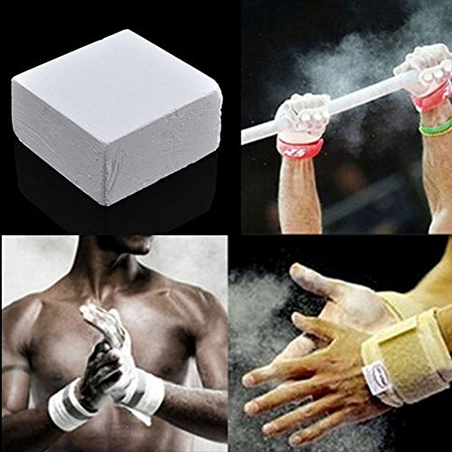 Forfar Gimnasio Levantamiento de pesas Escalada El magnesio antideslizante carbonato de tiza para el entrenamiento deportivo: Amazon.es: Deportes y aire ...