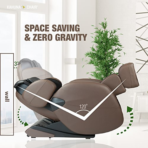 kahuna massage chair space saving zero gravity full body