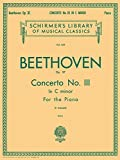 CONCERTO NO3 C MINOR OP37    2 PIANOS 4 HANDS   2 COPIES  NEEDED TO PERFORM (Schirmer's Library of Musical Classics)